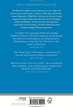 Livres Couvertures de The Bluest Eye
