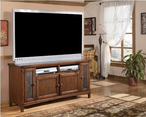 Image of Brown 60 inch TV Stand (ASLYW570-38)