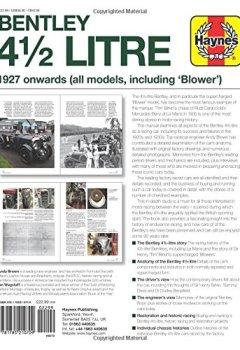 Livres Couvertures de Haynes Bentley 4 1/2 Litre Owners' Workshop Manual: 1927 Onwards (All Models, Including 'Blower')