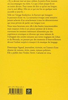 Livres Couvertures de Dans nos langues