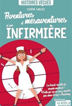 Livres Couvertures de Aventures et mésaventures d'une infirmière