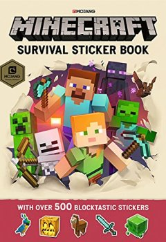 Livres Couvertures de Minecraft Survival Sticker Book: An Official Minecraft Book From Mojang