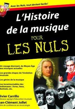 Livres Couvertures de L'Histoire de la musique Pour les Nuls