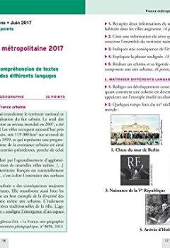 Livres Couvertures de Annales Annabrevet 2018 Histoire Géographie EMC 3e: sujets et corrigés, nouveau brevet