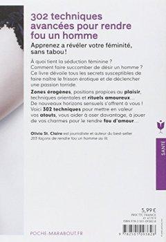 Livres Couvertures de 302 techniques avancées pour rendre fou un homme: Apprenez à révéler votre féminité, sans tabou