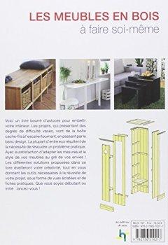 Livres Couvertures de Les meubles en bois à faire soi-même. 50 projets pour la maison. En direct de Scandinavie.