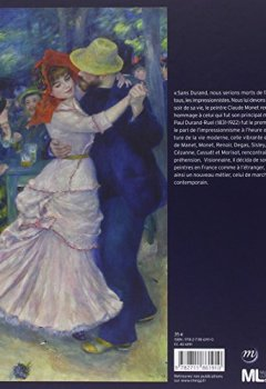 Livres Couvertures de Paul Durand-Ruel : Le pari de l'impressionnisme