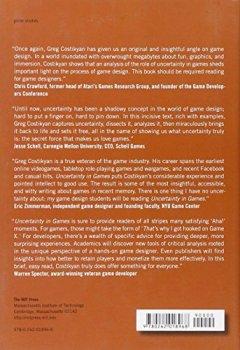 Livres Couvertures de Uncertainty in Games