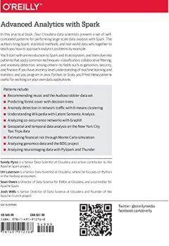 Livres Couvertures de Advanced Analytics with Spark-