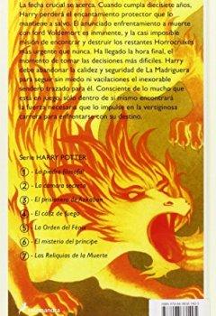 Buchdeckel von Harry Potter y las reliquias de la muerte