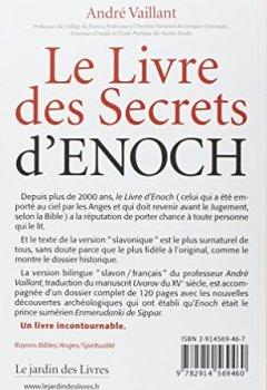 Le livre des secrets d'Enoch de Indie Author