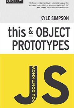 Livres Couvertures de You Don't Know JS: this & Object Prototypes