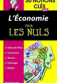 Livres Couvertures de 50 notions clés sur l'économie pour les Nuls