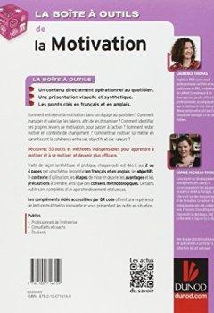Livres Couvertures de La Boîte à outils de la Motivation