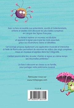 Livres Couvertures de Mes comptines en Langue des Signes Française