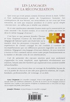 Livres Couvertures de Les langages de la réconciliation