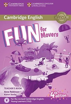 Livres Couvertures de Fun for Movers. Teacher's Book with downloadable audio. 4th Edition