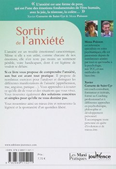 Livres Couvertures de Sortir de l'Anxiete
