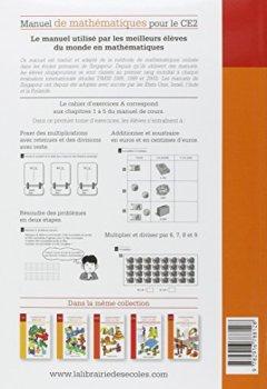 Livres Couvertures de Manuel de mathématiques CE2 : Cahier d'exercices A
