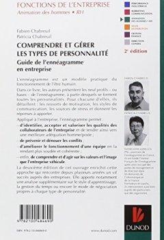 Livres Couvertures de Comprendre et gérer les types de personnalité : Guide de l'ennéagramme en entreprise