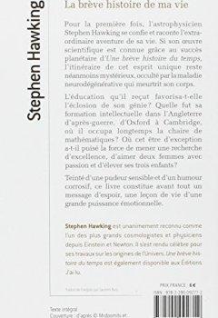 Livres Couvertures de La brève histoire de ma vie : Biographie