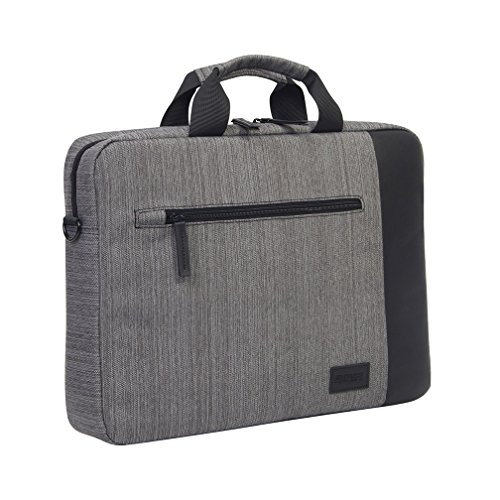 KINGSLONG-Multi-functional-15-inches-Portable-Laptop-Case-BagMessenger-for-Notebook-Computer-Grey