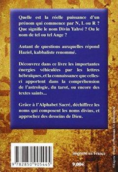 Livres Couvertures de Qu'est-ce-que les Lettres Hébraïques - Les fabuleux pouvoirs de l'Alphabet Sacré