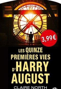 Livres Couvertures de Les quinze premières vies d'Harry August