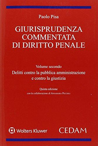 Giurisprudenza commentata di diritto penale: 2