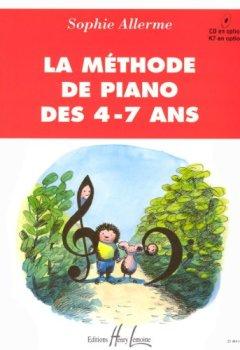 Livres Couvertures de Méthode de piano des 4-7 ans