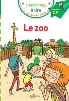 Livres Couvertures de Sami et Julie - Français CP :  le zoo