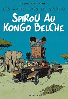 Livres Couvertures de Le Spirou de ... - tome 11 - Spirou au  Kongo belche (Version Bruxellois)
