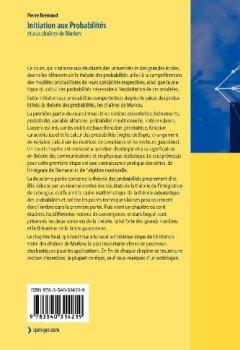 Livres Couvertures de Introduction Aux Probabilites: Modelisation DES Phenomenes Aleatoires