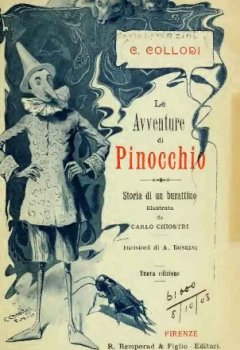Abdeckungen La avventure di Pinocchio, storia di un burattino - 1902 (Italian Edition)