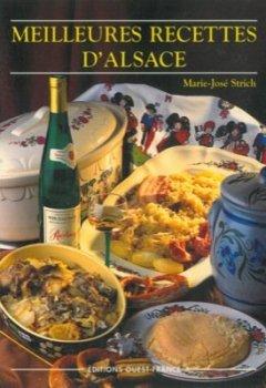 Livres Couvertures de Les Meilleures Recettes d'Alsace