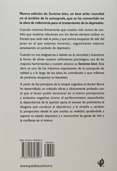 Portada del libro deSentirse bien: Una nueva terapia contra las depresiones (Biblioteca David Burns)
