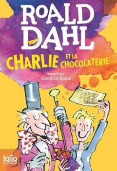 Livres Couvertures de Charlie et la chocolaterie