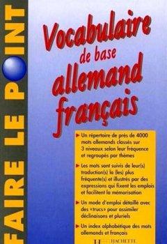 Livres Couvertures de Vocabulaire de base Allemand Français : Edition 1997 entièrement refondue