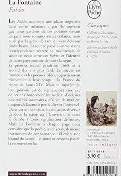 Livres Couvertures de La Fontaine : Fables