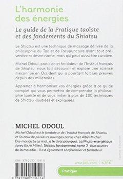 Livres Couvertures de L'harmonie des énergies : Guide de la pratique taoïste et les fondements du Shiatsu