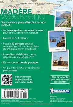 Livres Couvertures de Guide Vert Week-end Madère Michelin