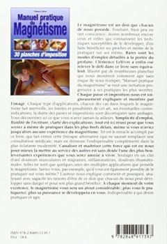 Livres Couvertures de Manuel pratique du magnétisme - 30 planches d'imposition