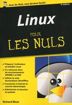Livres Couvertures de Linux Pour les Nuls, édition poche, 9ème édition