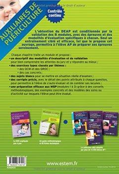 Livres Couvertures de Auxiliaires de puériculture - modules 1 à 8 : Exercices corrigés