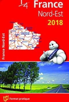 Livres Couvertures de Carte France Nord-Est Michelin 2018
