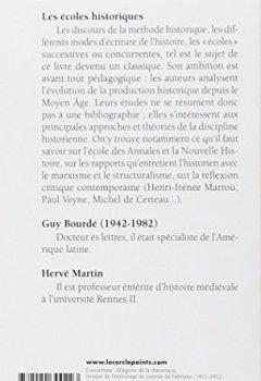 Livres Couvertures de Les écoles historiques