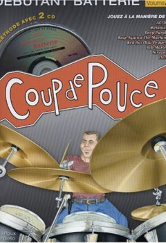 Livres Couvertures de Roux - Coup de Pouce Batterie Vol 2 (+ 2 cd)