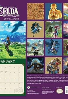 Livres Couvertures de Legend of Zelda - Breath of the Wild 2019 Calendar