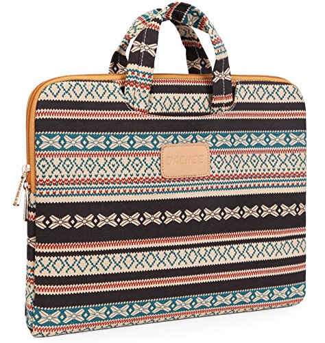 Dachee-New-Bohemian-Laptop-Briefcase-11inch-12inch-13-Inch-Laptop-Case-for-Macbook-Air-11-Macbook-Air-13macbook-Pro-13-133-Inch116-Inch-125-Inch-Laptop-Baglaptop-Sleeve-116-133-Inches-Retro