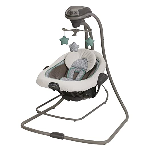 Graco Duet Connect LX Swing and Bouncer, Manor